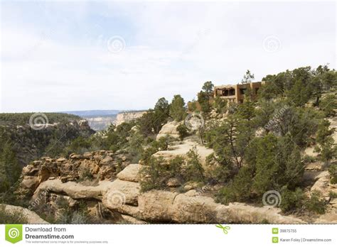 adobe ft adobe fort on cliff edge stock photo image 39875755