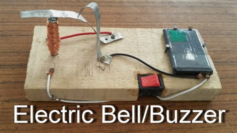 diy projects electrical how to make an electric bell buzzer at home science projects for