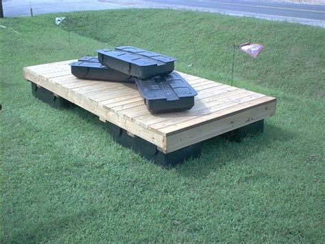 floating dock for sale in our backyard there is a decent sized pond we want to