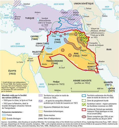 Carte De L Empire Ottoman by Du D 233 Coupage De L Empire Ottoman Aux Projets Des