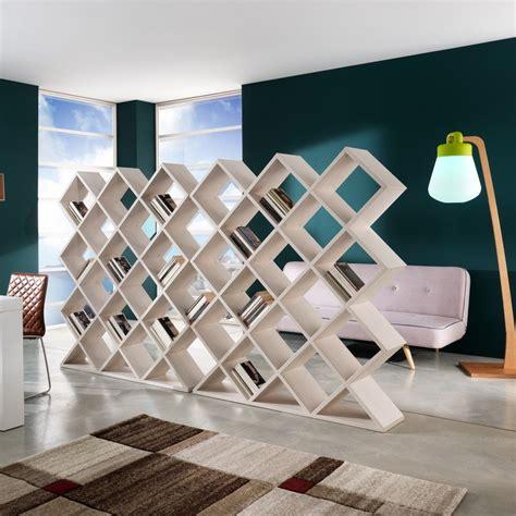 libreria divisoria libreria divisoria a nido d ape in legno 140 x 160 cm mynest