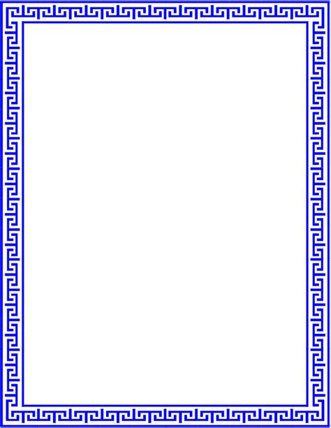pattern lines border greek lines page outline fonts borders clip art