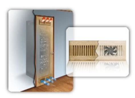 Av Closet Cooling by Middle Atlantic Products Thermo Management