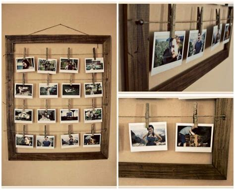 Home Decoration Stuff by 41 Diy Ideas To Brilliantly Reuse Old Picture Frames Into