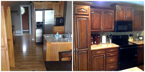 Faux Painted Kitchen Cabinets by Kitchen Cabinets Faux Painting Remodeling