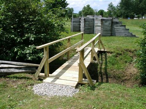 Diy Build A Suspension Footbridge Footbridge Plans Plans Diy Free Download Woodworking Diy