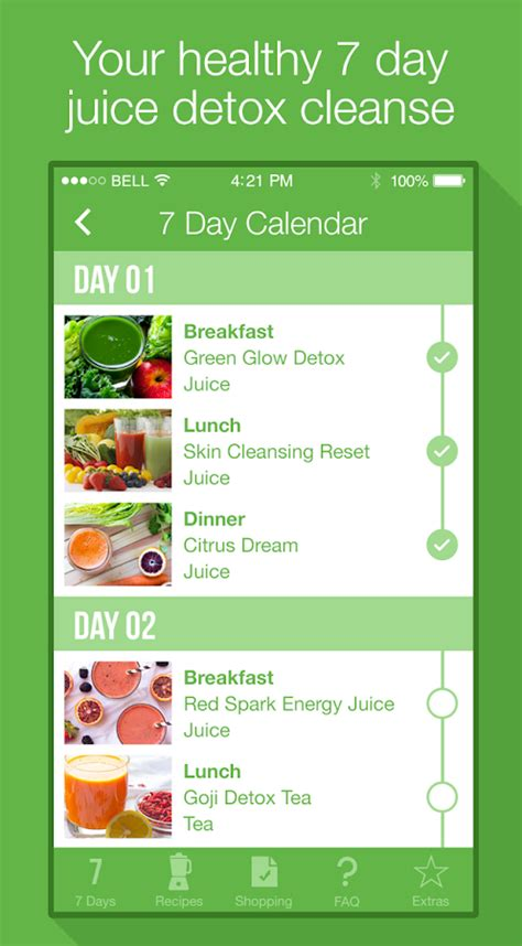 7 Day Detox by 7 Day Juice Detox Cleanse Android Apps On Play