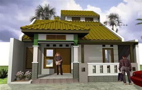desain teras rumah atap asbes harumah desain rumah minimalis atap dak