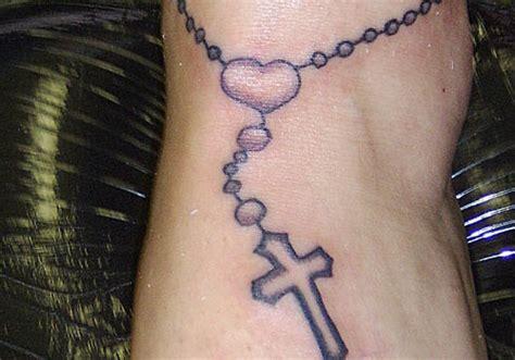 35 lovely rosary tattoos creativefan