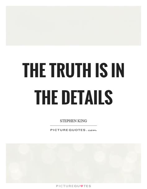 the is in the details picture quotes