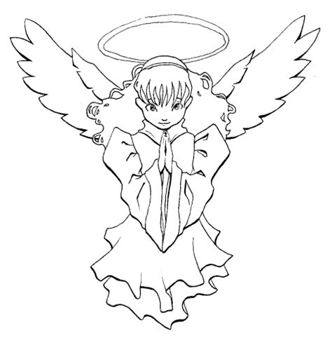 cartoon angel tattoo designs designs
