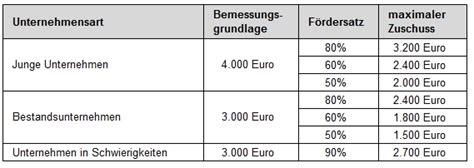 adverbialsätze tabelle beratung bafa f 246 rderung f 252 r unternehmensberatungen