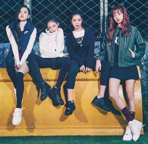 blackpink x nike af1 blackpink vogue korea k pop pinterest blackpink