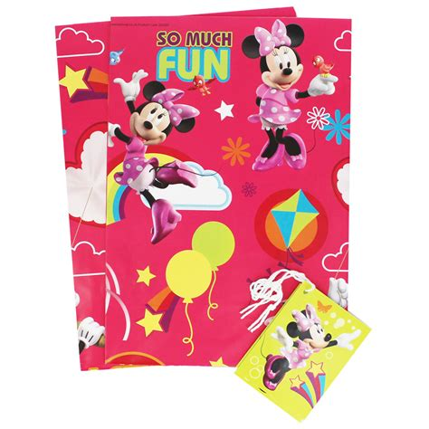 minnie mouse gift wrap minnie mouse gift wrap wrapping paper at the works