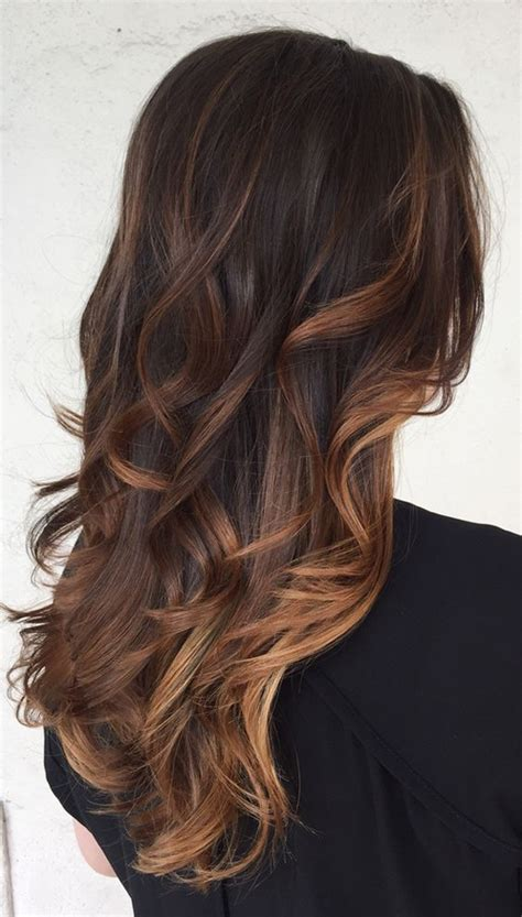 Best Hairstyles For Black Hair by Top 20 Best Balayage Hairstyles For Brown Black