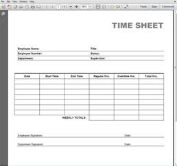 Printable Time Card Template Free Printable Time Card Template Quotes