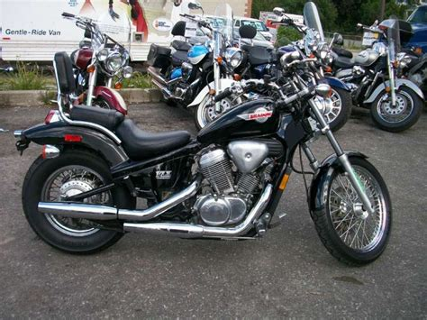 1993 black honda shadow vlx 600 honda motorcycles