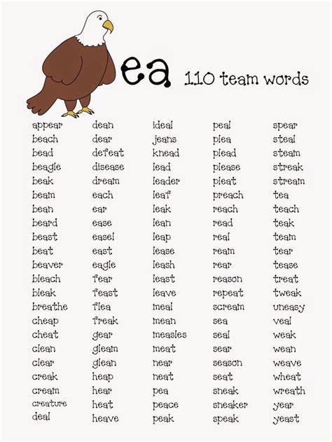 4 Letter Words All Vowels 100 vowel digraphs oa worksheets all worksheets