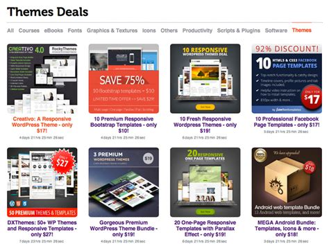 templates for deals website gorgeous web templates and wordpress themes at a bargain