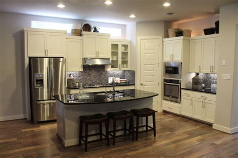 kitchen cabinet hutch choose flooring that compliments cabinet color burrows
