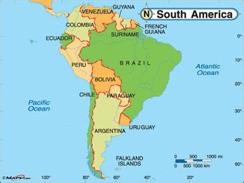 difference between north america and south america north