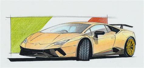 lamborghini car drawing 17 best ideas about car drawings on car