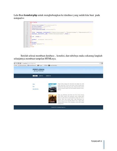membuat database xml xml dengan php