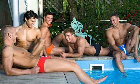 gay bathroom tube speedo junkie pool party