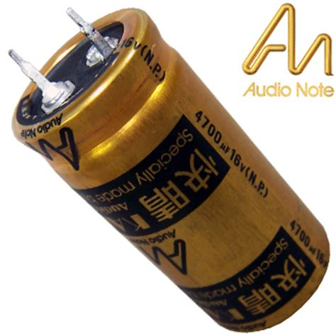 audio note electrolytic capacitor anek 440 4700uf 16v audio note kaisei bi polar electrolytic capacitor hifi collective