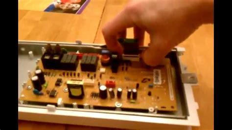 Microwave Samsung Me109f 1sh samsung microwave se 5e error fix