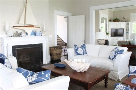 nautical living room inspiration on the horizon blue and white coastal rooms