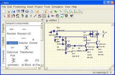 techtrends qucs open source electronics circuit simulator