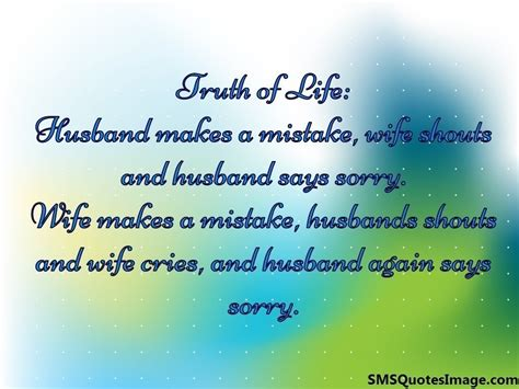 sms for husband in husband again says sorry marriage sms quotes image