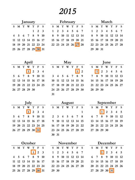 Pay Calendar 2015 Retired Pay Dates