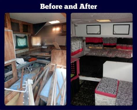 caveman trailer we renovated an 1974 caveman travel trailer for our