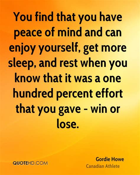 finding rest in the nature of the mind trilogy of rest volume 1 books gordie howe peace quotes quotehd