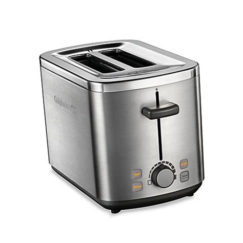 toaster bathtub calphalon 174 brushed stainless steel 2 slice toaster bed