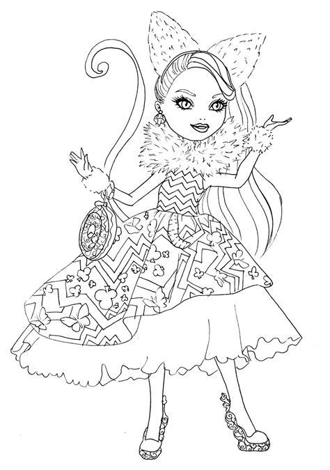 high coloring book books desenho de cheshire vestido lindo para colorir
