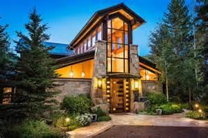 Modern Contemporary Ranch House Vail Christmas Ski Home