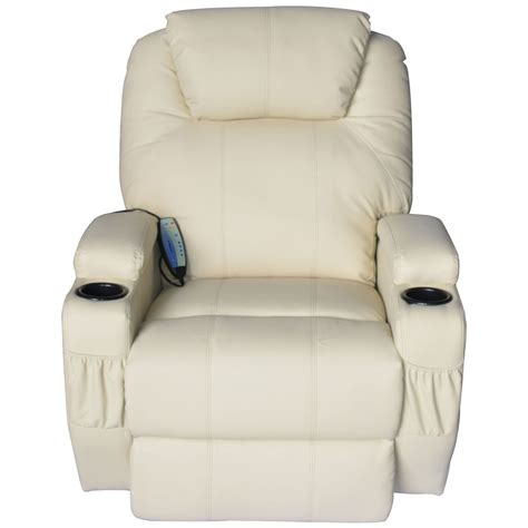 vibrating recliners with heat deluxe ergonomic vibrating recliner sofa massage chair