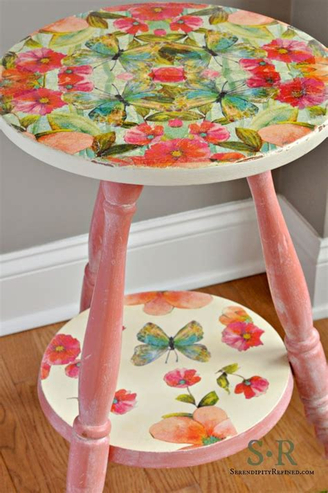 decoupage tutorial furniture best 25 napkin decoupage ideas on pinterest decoupage