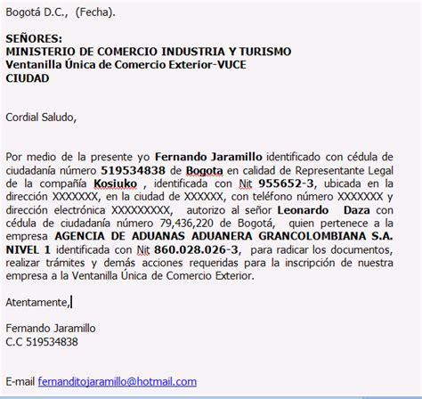 formato de poder notarial colombia exporta e importa documentos para la importaci 243 n
