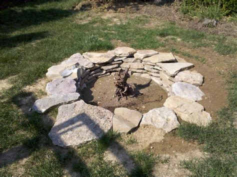 Build A Fire Pit With Rocks Fire Pit Design Ideas Pit Rocks