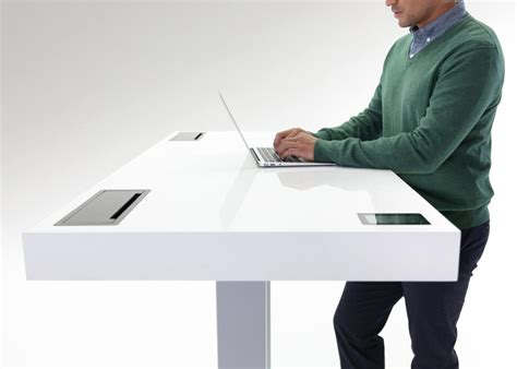 kinetic work desk that s a mashup between desk smartphone