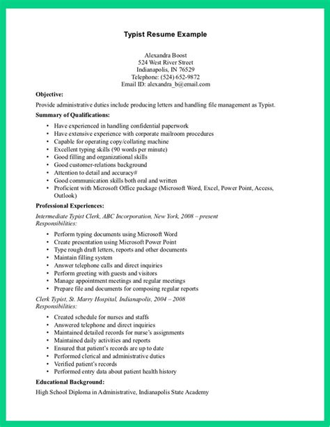 Description For Resume by Resume Bank Resume Banking Free Resume For A