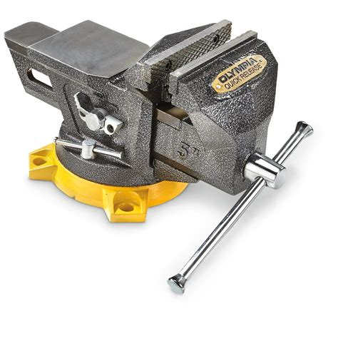 multi purpose bench vise olympia 5 quot multi purpose bench vise with quick release