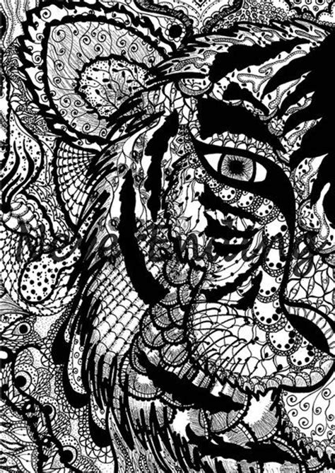 how to draw a doodle tiger tiger doodle doodles and backgrounds