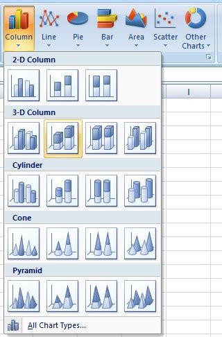 cara membuat grafik di excel pdf cara membuat grafik dengan microsoft excel belajar komputer