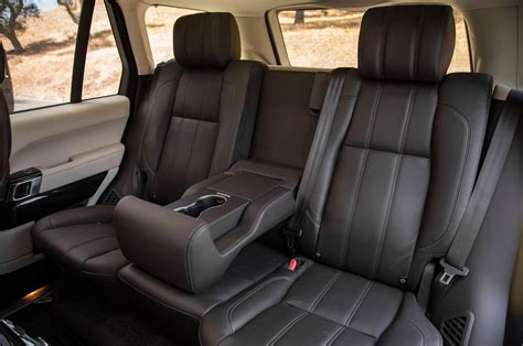 range rover seats 2013 land rover range rover supercharged back seats 206758