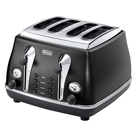 Buy 4 Slice Toaster Buy De Longhi Icona Vintage 4 Slice Toaster Black